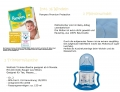 Pampers Windeltorte Dreirad blau