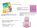 Pampers Windeltorte Dreirad rosa