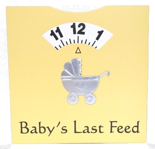 Windeltorte Babys last Feed