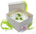 Pampers Windeltorte Cakebox grün